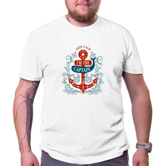 Vodáci Pánske tričko I'm the Captain