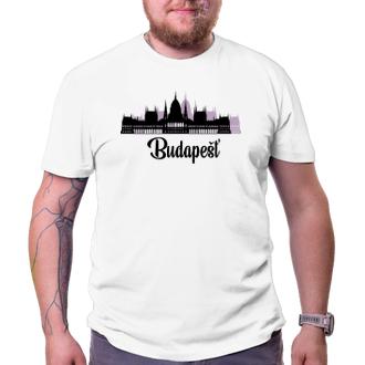 Cestování Cestovateľské tričko Budapešť