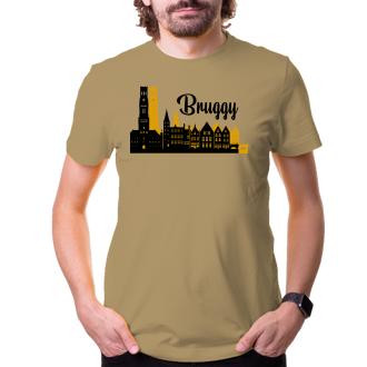 Cestování Cestovateľské tričko Bruggy