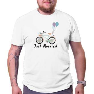 Svadobné Triko Svadobné koleso