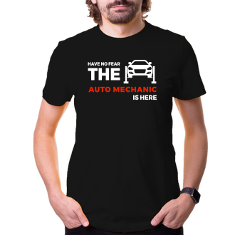 Autá a motorky Tričko Automechanik