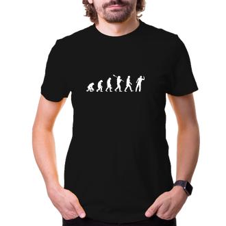 Šport Tričko Evolúcia Šípky