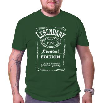 K narodeninám Narodeninové tričko Limited edition