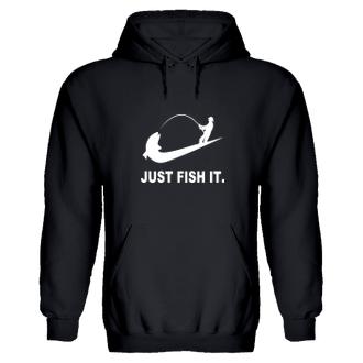 Rybárska mikina Just Fish it.