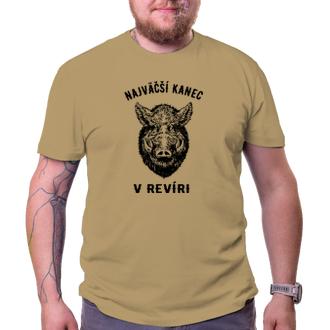 Poľovníci Lovecké tričko Najväčší diviak