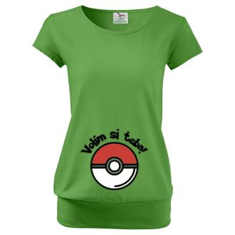 Pre tehotné Tehotenské tričko Pokémon