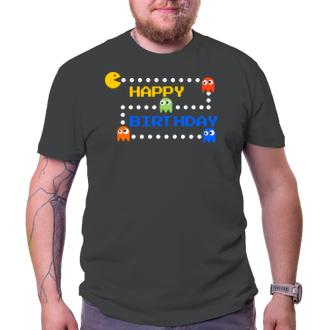 Narodeninové tričko Pac-man