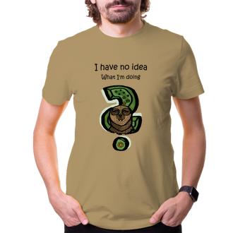 Vtipné trika Pánske tričko s leňochodom