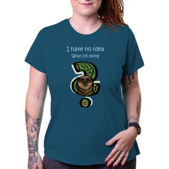 Vtipné trika Dámske tričko s leňochodom