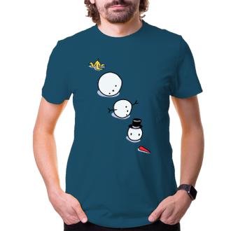 Vianočné tričko Snowman