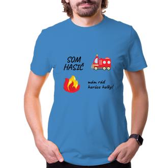 Vtipné tričko Som hasič