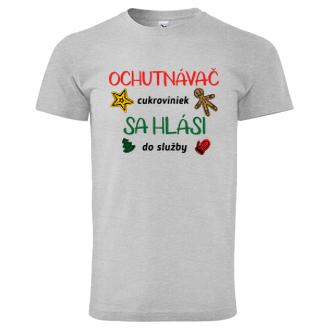 Vianoce Vianočné tričko Ochutnávač