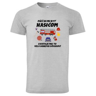 Hasiči Hasičské tričko Páči sa mi byť hasičom