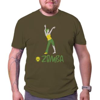 Tričko Zomba, cvičenie pre mŕtvych